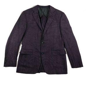 Pal Zileri Mens Wool/ Silk/ Linen Blend Blazer